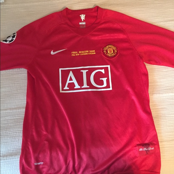 finest selection d9966 33007 Nike Ronaldo Manchester United Jersey 2008